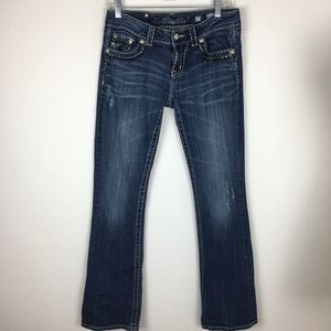 Miss Me Easy Boot Jeans size 27